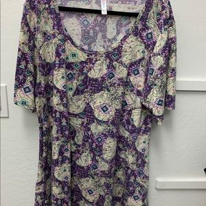 LulaRoe 3x Perfect T. Disney Princess. EUC